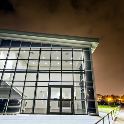 EPM head office at night