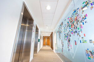 Protec LED in use at Bupa House