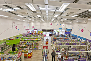 A Hobbycraft store using the Skylight